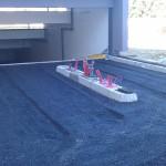 Gruba asfaltna podloga
